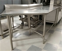 USED 45 Degree Angled Table