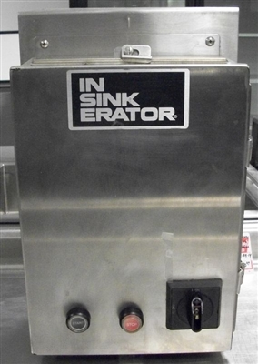 USED Disposer Control Panel with Auto Reverse Insinkerator #CC101K-3