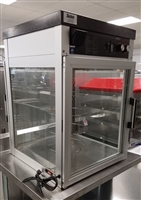 Used Rotary Pass Thru Hot Cabinet w/Humidity - Hatco #FST-2