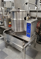 Used 12 Gallon Tilting Kettle - Cleveland #KET-12-T