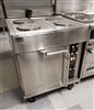 Used Electric Range / Convection Oven with 4 Burners - Wells #OC-4TC