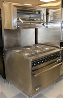 USED Toastmaster Electric Range w/ Convection Oven Base & Broiler, #RH36C4/D4