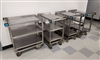 Used Lakeside #522 Heavy Duty Stainless Steel Carts