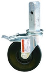 "5"" Locking Caster w/Square Stem for MFU Unit"
