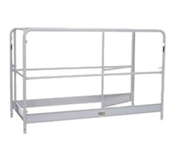 Guard Rail Assembly w/Gates for Aluminum MFU