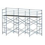 13'T x 21'L x 5'W  Mason Frame Scaffold Tower