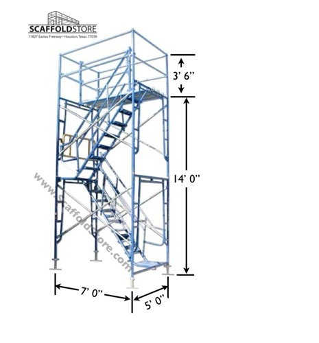 Beau Scaffold Stair Tower