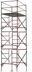 15' Non-Rolling Scaffold Tower