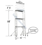 18' Multi-Function Tower - Aluminum