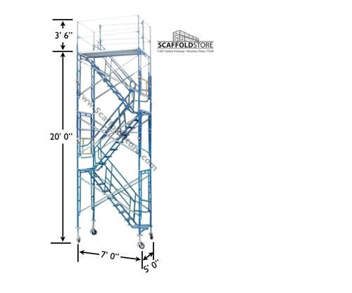 Staircase Tower Support : Scaffold stair tower store