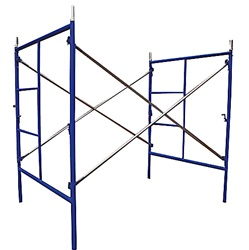 5'W x 6' 4''T x 7'L  Mason Frame Scaffold Set