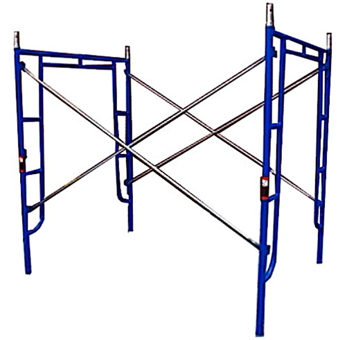 5\'W x 6\' 4\'\'T x 7\'L Walk-Thru Scaffold Frame Set