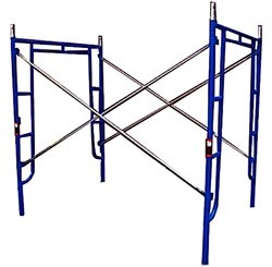 5'W x 6' 4''T x 7'L Walk-Thru Scaffold Frame Set