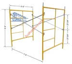 5'W x 6' 6'T x 7'L Mason Scaffold Frame Set