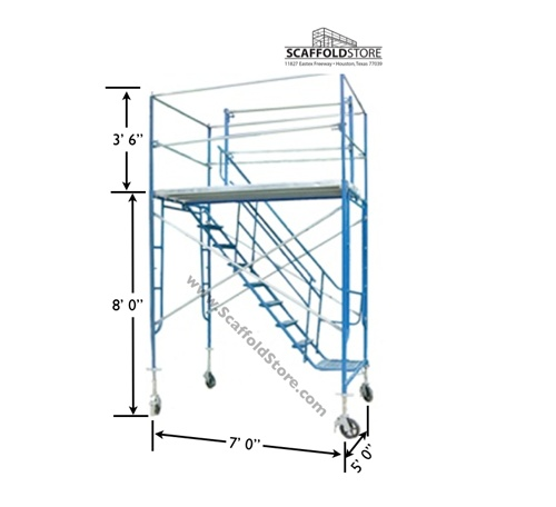 Tower Scaffold Stair Tower Stairway : Scaffold stair tower store