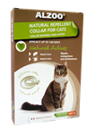 ALZOO NATURAL FLEA & TICK COLLAR - CATS UPC 03420900111939