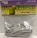 "JUNGLE TALK FUN FACTORY 1/4"" X 24"" LEATHER - ALL BIRDS UPC 728741210204"