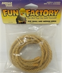 "JUNGLE TALK FUN FACTORY 3/16"" X 10' SISAL - SM & MD BIRDS UPC 728741260308"