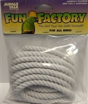 "JUNGLE TALK FUN FACTORY 1/4"" X 10' COTTON ROPE - ALL BIRDS UPC 728741270208"