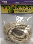 "JUNGLE TALK FUN FACTORY 3/8"" X 10' SISAL - ALL BIRDS UPC 728741270307"
