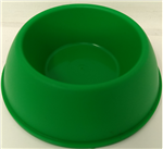 CPS INDUSTRIES SMALL ANIMAL PLASTIC NO TIP BOWL 4 OZ. ASST'D COLORS