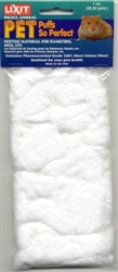 LIXIT PUFFS SO PERFECT NATURAL COTTON BEDDING 1 OZ BAG