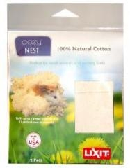LIXIT COZY NEST 12 COTTON PADS IN DISPLAY BAG