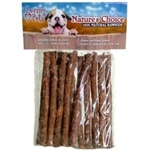 LOVING PETS PRODUCTS NATURE'S CHOICE 15 PK CHICKEN BBQ MUNCHY STICKS UPC 842982064027