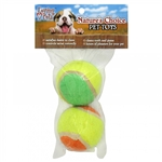 LOVING PETS PRODUCTS NATURE'S CHOICE 2 PK TENNIS BALLS 12/BAG UPC 842982064614