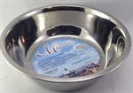 LOVING PETS MEDIUM STAINLESS STEEL MILANO BOWL APPROX 1 PT