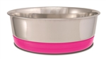 LOVING PETS PRODUCTS CLIP ON BOWL MEDIUM, PINK  UPC 842982076358