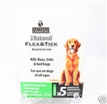 NATURAL CHEMISTRY SQUEEZE-ON FLEA & TICK TREATMENT, LARGE DOGS  UPC 717108112602