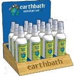 EARTHBATH 15 PC NO CHEW SPRAY COUNTER DISPLAY UPC 602644999872