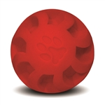 "**TEMPORARILY UNAVAILABLE** HUETER TOLEDO SOFT-FLEX® HEAVY DUTY SQUEAKER TOYS SWIRL BALL - 7"" - RED  UPC 095467057070 6.11"