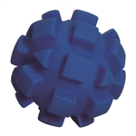 "**TEMPORARILY UNAVAILABLE** HUETER TOLEDO SOFT-FLEX® HEAVY DUTY SQUEAKER TOYS BUMPY BALL - 7"" - BLUE  UPC 095467059074 6.11"