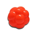 "**TEMPORARILY UNAVAILABLE** HUETER TOLEDO SOFT-FLEX® HEAVY DUTY SQUEAKER TOYS MOLECULE - 4"" - ORANGE  UPC 095467068045 3.35"