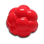 "**TEMPORARILY UNAVAILABLE** HUETER TOLEDO SOFT-FLEX® HEAVY DUTY SQUEAKER TOYS MOLECULE - 5.5"" - RED  UPC 095467068557 4.73"