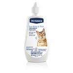 PET IQ PETARMOR EAR MITE & TICK TREATMENT CAT 3 OZ UPC 73091028154