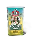 KALMBACH FEEDS LIVE STOCK FEED CHICK STARTER / CRUMBLES NON MEDICATED 50 LB. BAG  UPC 722304205515