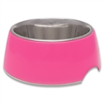 LOVING PET PRODUCTS RETRO BOWLS X-SMALL HOT PINK UPC 842982071308