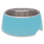 LOVING PET PRODUCTS RETRO BOWLS X-SMALL ELECTRIC BLUE UPC 842982071346