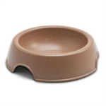 LOVING PETS PRODUCTS BAMBU BOWL SMALL - CHOCOLATE