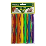 "** OUT OF STOCK ** MULTIPET KITTY STRAWS 12PK SIZE: 7"" 3/PK UPC 78436920105"