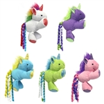 "** OUT OF STOCK ** MULTIPET UNICORN W/ CATNIP SIZE: 3"" 3/PK UPC 78436920642"