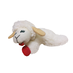"** TEMPORARILY UNAVAILABLE ** MULTIPET LAMB CHOP CAT TOY SIZE: 4"" 3/PK UPC 78436920775"