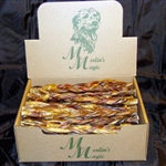 "*** TEMPORARILY UNAVAILABLE *** MERLIN'S MAGIC 12"" FREE RANGE BRAIDED BULL STICKS 30 COUNT  UPC 817172010054"