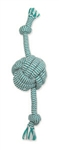"MAMMOTH PET PRODUCTS SMALL 13"" EXTRA FRESH MONKEY FIST BALL W/ ROPE ENDS UPC 746772255902"