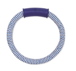 "MAMMOTH PET PRODUCTS SMALL 8"" WINTER FRESH DENTAL RING W/ HANDLE UPC 746772256558"
