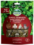 OXBOW ANIMAL HEALTH BAKED TREATS W/PEPPERMINT 2 OZ. PKG  UPC 744845960197