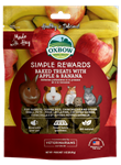 OXBOW ANIMAL HEALTH BAKED TREATS W/APPLE & BANANA 2 OZ. PKG  UPC 744845960234